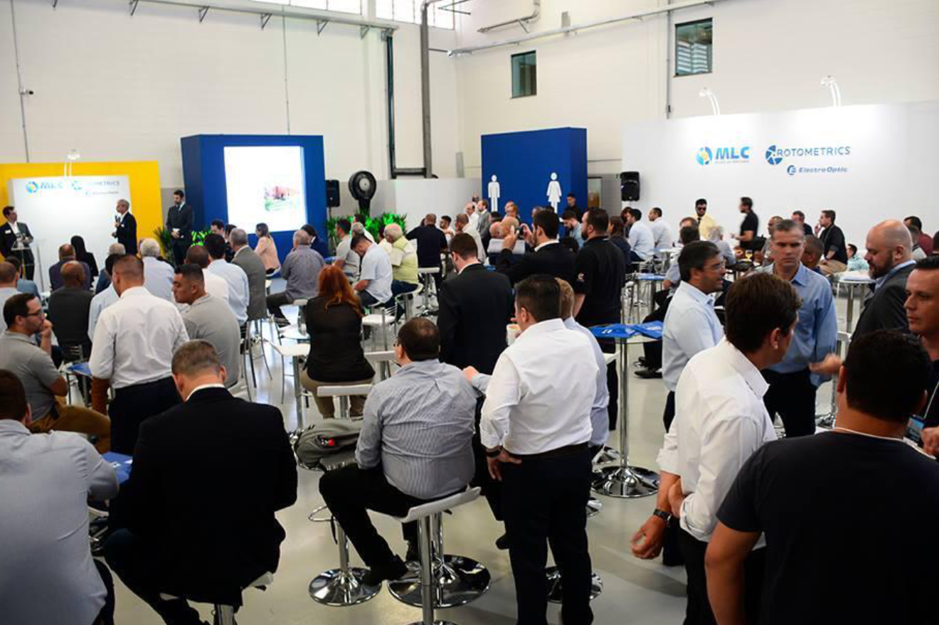 Event for the new plant opening in São Paulo, Brazil.